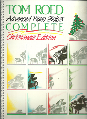 Picture of Tom Roed Advanced Piano Solos Songbook, Complete Christmas Edition
