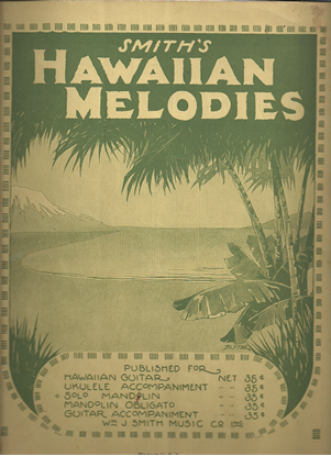 Picture of Smith's Hawaiian Melodies for Solo Mandolin, songbook