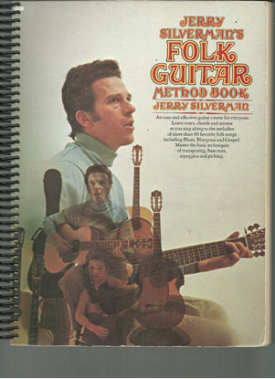 Picture of Jerry Silverman's Folk Guitar Method Book