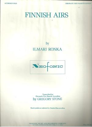 Picture of Finnish Airs, Ilmari Ronka, free bass accordion solo