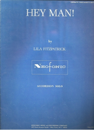 Picture of Hey Man, Lila Fitzpatrick, free bass accordion solo