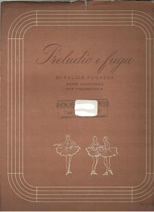 Picture of Preludio e Fuga, Felice Fugazza, accordion solo sheet music