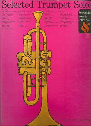 Picture of Everybody's Favorite Series No. 42, Selected Trumpet Solos, EFS42