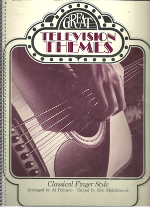 Picture of Great Television Themes for Classical Finger Style Guitar, arr. Al Politano