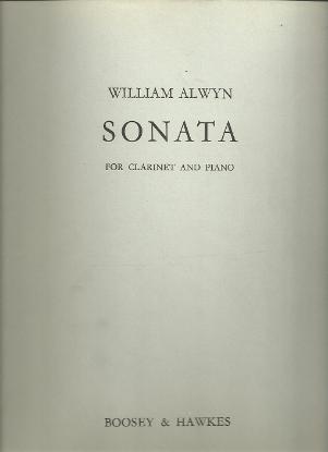 Picture of Sonata, William Alwyn, clarinet & piano