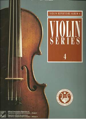 Picture of Violin Grade 4 Exam Book, 1992 Edition, Royal Conservatory of Music, University of Toronto