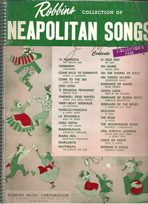 Picture of Robbins Collection of Neapolitan Songs