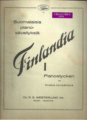 Picture of Finlandia I, Piano Pieces by Finnish Composers