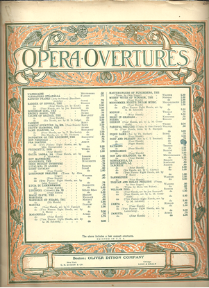 Picture of Poet and Peasant Overture, Franz von Suppe, arr. by C. T. Brunner for two pianos eight hands