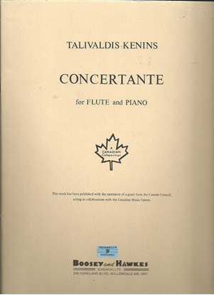 Picture of Concertante for Flute & Piano, Talivaldis Kenins