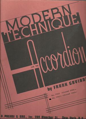 Picture of Modern Technique for the Accordion Book 2, Frank Gaviani