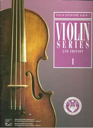 Picture of Violin Grade 1 Exam Book, 1999 2nd Edition, Royal Conservatory of Music, University of Toronto