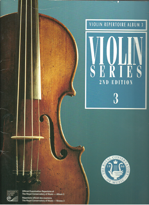 Picture of Violin Grade 3 Exam Book, 1999 2nd Edition, Royal Conservatory of Music, University of Toronto