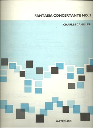 Picture of Fantasia Concertante No. 7, Charles Camilleri, free bass accordion solo