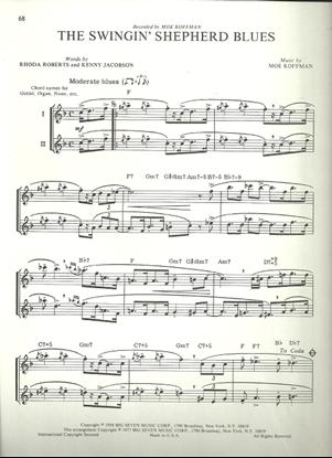 Picture of The Swingin' Shepherd Blues, Moe Koffman, flute solo/duet
