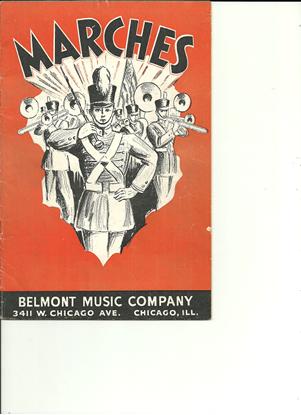 Picture of Marches, Belmont Music Songbook