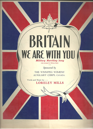 Picture of Britain We Are With You, Loreley Mills