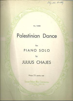 Picture of Palestinian Dance, Julius Chajes, piano solo