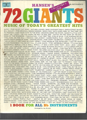 Picture of Hansen's 72 Giants, arr. Jay Arnold for Bb instruments