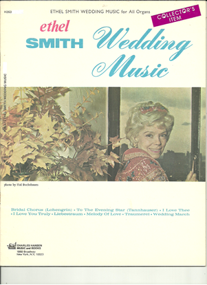Picture of Ethel Smith, Wedding Music for All Organs, songbook