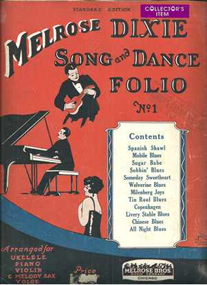 Picture of Melrose Dixie Song & Dance Folio No. 1