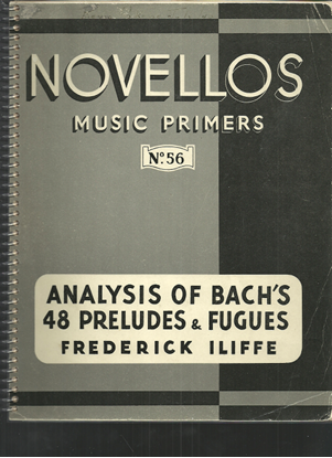 Picture of Analysis of Bach's 48 Preludes and Fugues, Frederick Iliffe