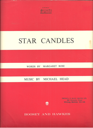 Picture of Star Candles, Michael Head, med-high voice