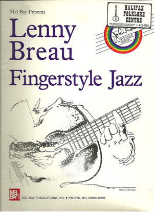 Picture of Lenny Breau Fingerstyle Jazz Guitar, songbook