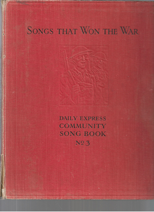 Picture of Songs That Won the War, ed. S. Louis Giraud, songbook