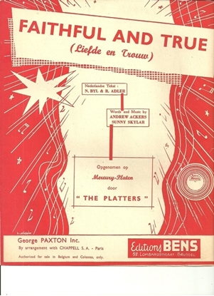 Picture of Faithful and True, Andrew Ackers & Sunny Skylar, recorded by The Platters