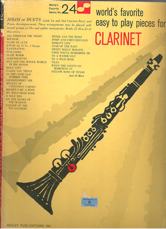 Picture for category Clarinet