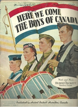 Picture of Here We Come the Boys of Canada, Hubert Beckett