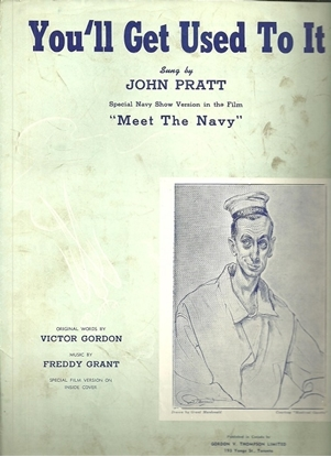 Picture of You'll Get Used To It, Victor Gordon & Freddy Grant, sung by John Pratt