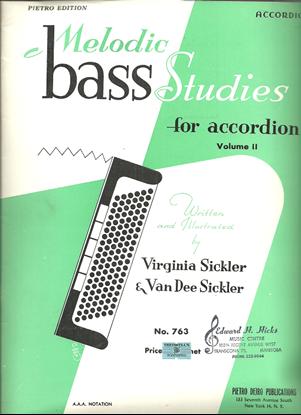 Picture of Melodic Bass Studies for Accordion Volume 2, Virginia & Van Dee Sickler