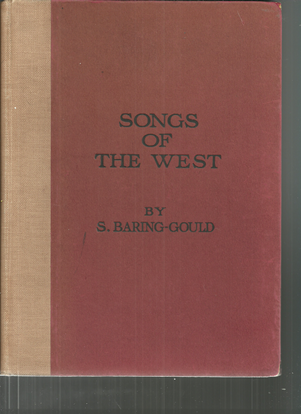 Picture of The Songs of the West, S. Baring-Gould & Cecil J. Sharp, songbook