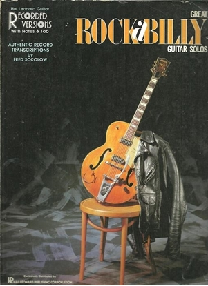 Picture of Great Rock-a-Billy Guitar Solos, arr. Fred Sokolow, TAB songbook