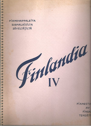 Picture of Finlandia IV, Piano Pieces by Finnish Composers