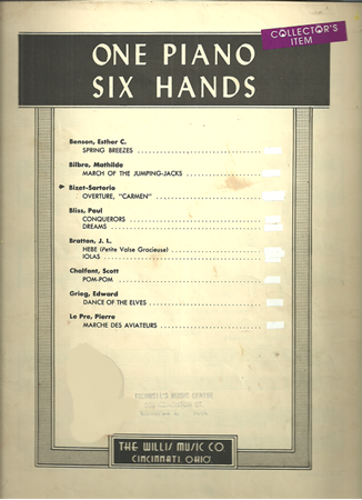 Picture for category 1 Piano 6 Hands