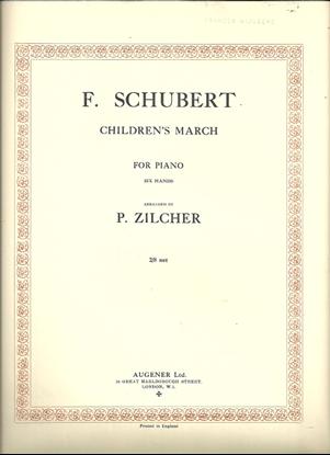 Picture of Children's March, Franz Schubert, arr. P. Zilcher for 1 piano 6 hands