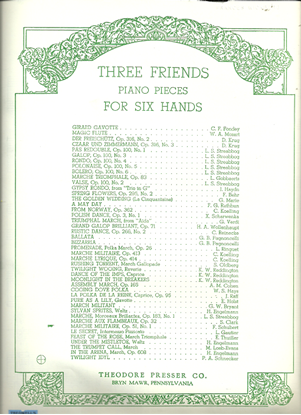 Picture of Marche Militaire Op. 51 No. 1, Franz Schubert, arr. G. Horvath for 1 piano 6 hands, sheet music