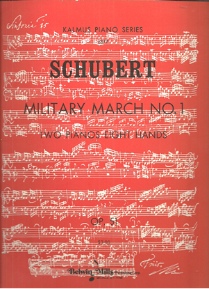 Picture of Military March Op. 51 No. 1, Franz Schubert, 2 piano 8 hands
