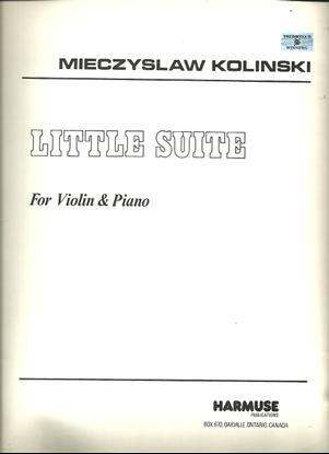 Picture of Little Suite for Violin & Piano, Mieczyslaw Kolinski, violin solo