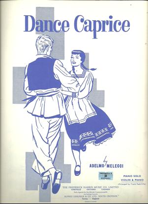 Picture of Dance Caprice (Mazurka), Adelmo Melecci, violin solo sheet music