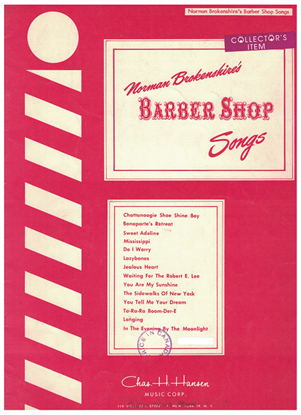 Picture of Barber Shop Songs, arr. Norman Brokenshire for TTBB chorus