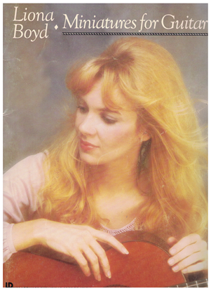 Picture of Liona Boyd, Miniatures for Guitar