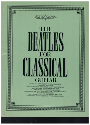 Picture of The Beatles for Classical Guitar Books 1 & 2 Complete, arr. Joe Washington