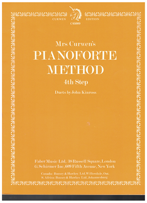 Picture of Mrs. Curwen's Pianoforte Method 4th Step(Kinross), piano solo songbook