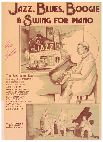 Picture of Jazz, Blues, Boogie & Swing for Piano, ed. Ronny S. Schiff, piano solo songbook
