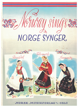 Picture of Norway Sings (Norge Synger), A Collection of Norwegian Folk Music, songbook
