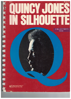 Picture of Quincy Jones in Silhouette Book 2, fake songbook